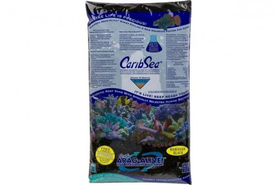 CARIBSEA SABLE VIVANT ARAGA. HAWAIIAN BLACK 0.25-3.5 mm 20 lbs 9.07kg