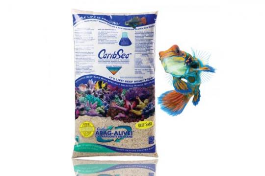 CARIBSEA SABLE VIVANT ARAGALIVE FIDJI PINK 0.5-1.5 mm 20 lbs 9.07kg