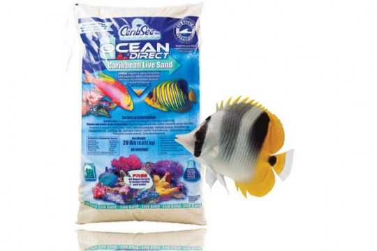 CARIBSEA SABLE VIVANT OCEAN DIRECT 0.25-1 mm 20 lbs 9.07kg