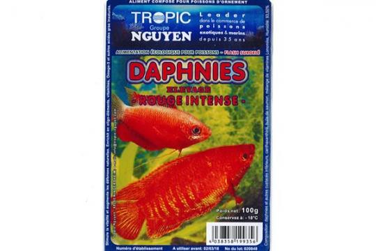 Daphnies Rouge 100g Blister
