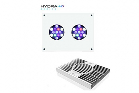 LED Aqua Illumination Hydra 26 HD 90W (Blanche / Alu.)
