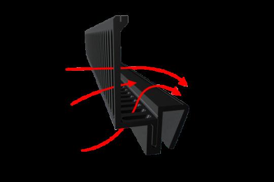 D-D ULTRAFLOW WEIR COMB 60 cm 6-10 mm (peigne de surverse)