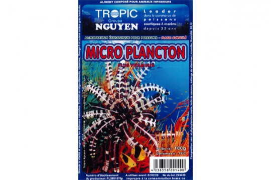 CONGELE MICROPLANCTON BLISTER 100 gr