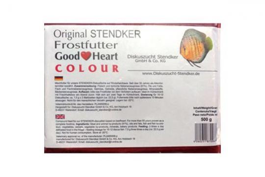 STENDKER CONGELE GOOD HEART COLOUR PLAQUE 500 gr