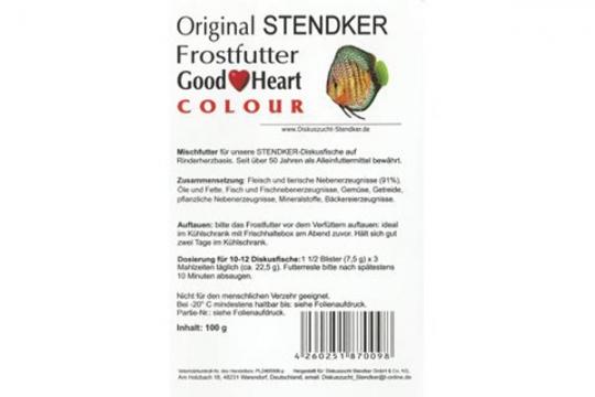 STENDKER CONGELE GOOD HEART COLOUR BLISTER 100 gr