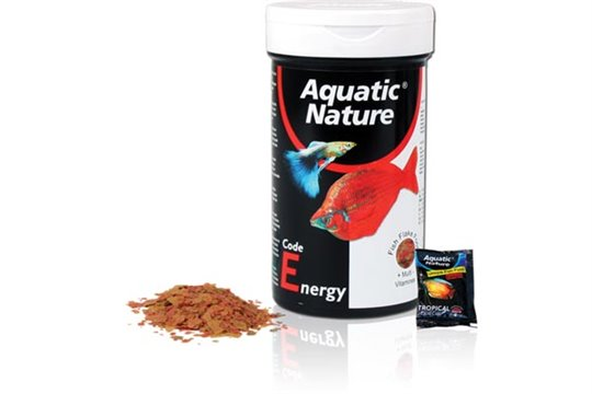 AQUATIC NATURE CODE ENERGY FLAKE 190 ml / 30 g