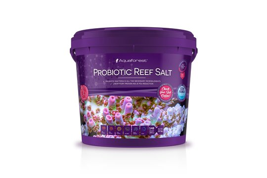 AQUAFOREST SEL PROBIOTIC REEF SALT 22 kg