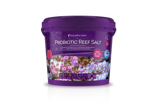 AQUAFOREST SEL PROBIOTIC REEF SALT 22 kg