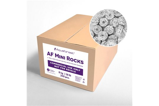 AQUAFOREST AF MINI ROCKS 250 pcs COMMERCIAL