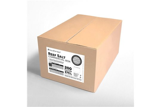 AQUAFOREST REEF SALT BOX 25 kg COMMERCIAL