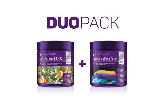 AQUAFOREST AF MARINE MIX S / AF ANTHIAS PRO FEED DUO PACK