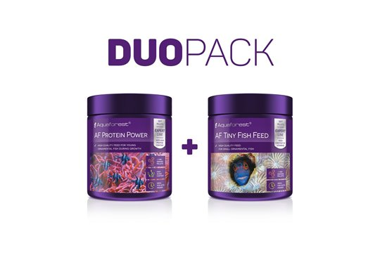 AQUAFOREST AF PROTEIN POWER / AF TINY FISH FEED DUO PACK