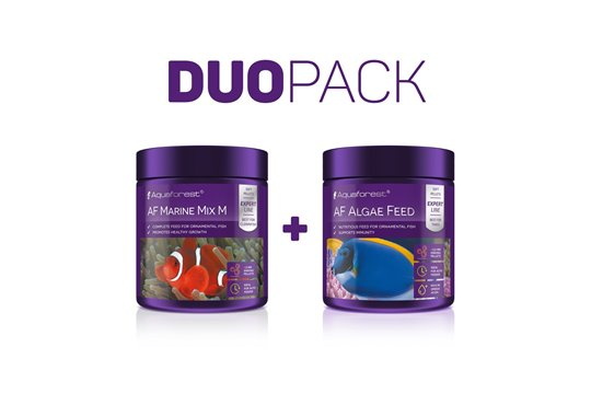 AQUAFOREST AF MARINE MIX M / AF ALGAE FEED DUO PACK
