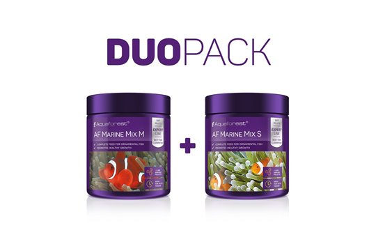 AQUAFOREST AF MARINE MIX S / AF MARINE MIX M FEED DUO PACK