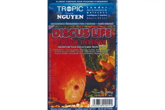 Discus Life intensiv red 100g Blister