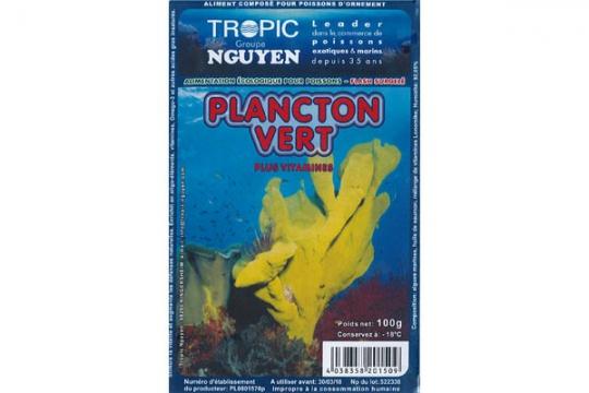 Plancton vert 100 gr Blister