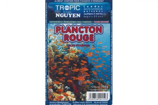 Plancton rouge 100 gr Blister