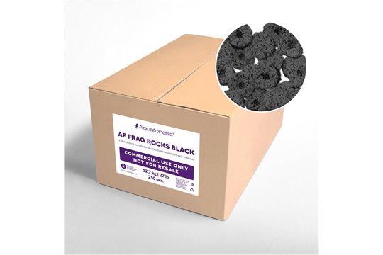 AQUAFOREST AF FRAGS ROCKS BLACK 250 pcs COMMERCIAL