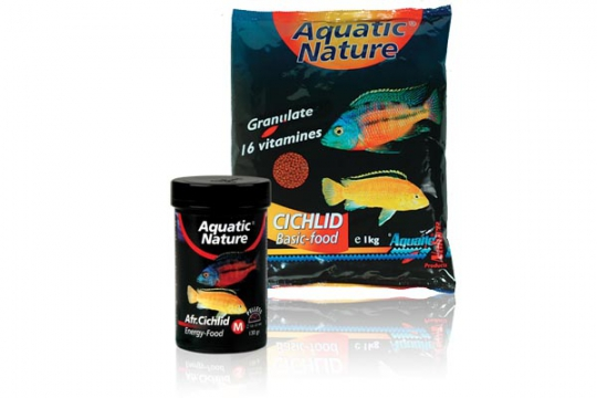 AFRICAN CICHLID ENERGY FOOD M 1 kg AQUATIC NATURE