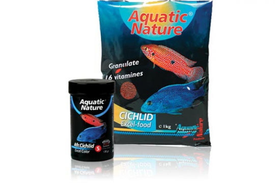 AFRICAN CICHLID EXCEL COLOR S 1 kg AQUATIC NATURE