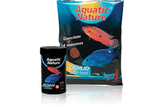 AFRICAN CICHLID EXCEL COLOR M 1KG AQUATIC NATURE