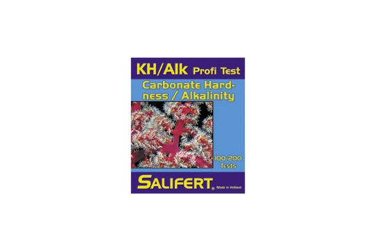 Test kh / alcalinite salifert 100/200 tests