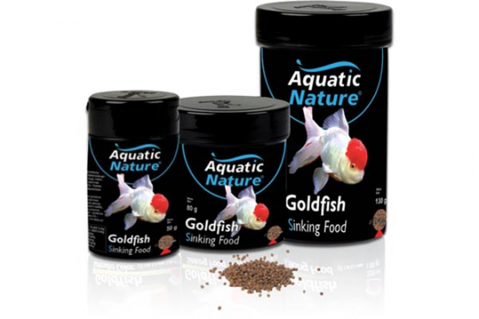 SINKING GOLD FISH FOOD 320 ml AQUATIC NATURE