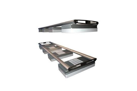 Rail double D&D 61 cm pour LED Hydra 26