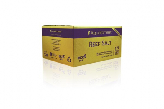 SEL REEF SALT BOX 25 kg AQUAFOREST