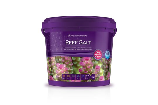 SEL REEF SALT 22 kg AQUAFOREST